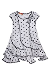 Kate Mack Girl's 7-16 Monte Carlo Dress in White