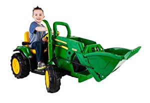 Peg Perego John Deere Ground Loader Ride On, Green