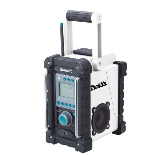 Makita BMR100W 18-Volt LXT Lithium-Ion Cordless FM/AM Job Site Radio (Tool Only, No Battery) (Work Side Radio compare prices)