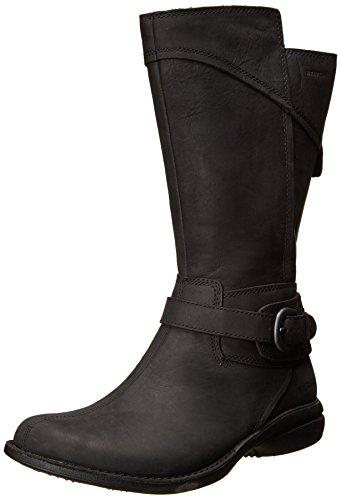 Merrell Womens Captiva Buckle-Down Waterproof Boot,Black,8.5 M US