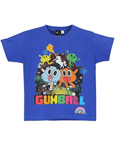 Character Boys' The Amazing World of Gumball Short Sleeved Top
