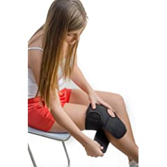 Dr.Soooothe Heat Therapy Knee and Elbow Support with Matching Gel Heating Pads... by Dr.Soooothe!