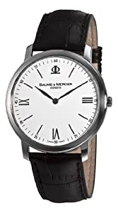 Baume & Mercier Men's 8849 Classima Executives White Dial Watch from Baume & Mercier