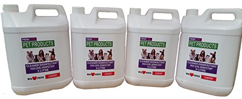 4-x-5-litre-cherry-fragrance-pet-kennel-disinfectant-and-deodoriser