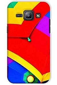 IndiaRangDe Hard Back Cover FOR Samsung Galaxy J1