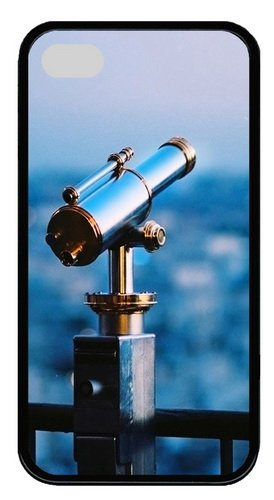 Iphone 4S Cases, Iphone 4S Case - Astronomical Telescope Tpu Silicone Case Cover For Iphone 4 And Iphone 4S - Black