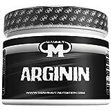 Mammut L-Arginin Powder, 1,7g pro Portion, magnesiumoptimiert, 1er Pack (1 x 300 g Dose)