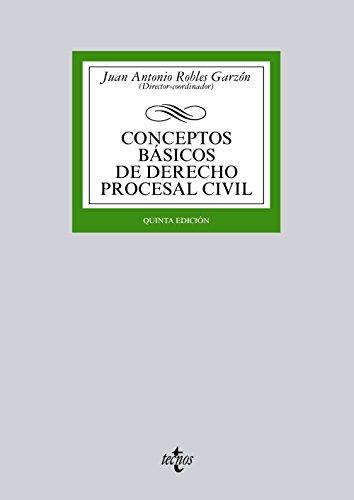 CONCEPTOS BASICOS DE DERECHO PROCESAL CIVIL