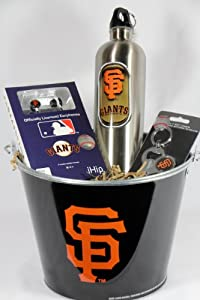 San Francisco Giants Fan Pail Gift Basket by San Francisco Giants