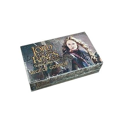 Seigneur des Anneaux-Siege-Jeu de cartes à collectionner du Gondor (cachetée Boîte de 36 Paquets)