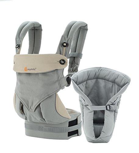 Ergobaby Four Position Bundle of Joy Baby Carrier, Grey (Ergo Baby Carrier Four Position compare prices)