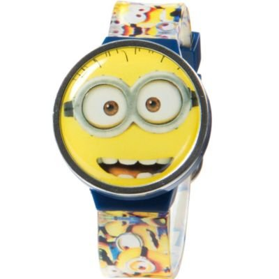 Despicable me 2 lcd watch with flip top shopswell for Despicable watches