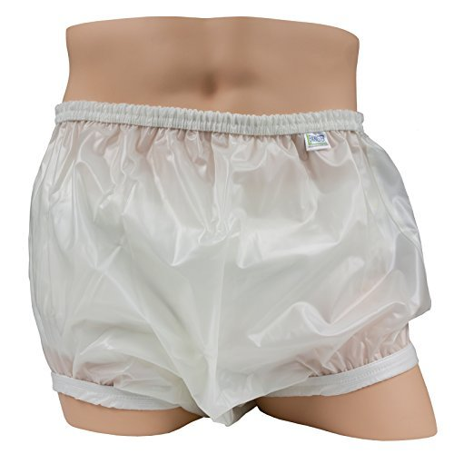 Leakmaster Deluxe Heavy Duty Adult Pullon Plastic Pants, Large fits 36-42 in (Adult Diapers And Plastic Pants compare prices)