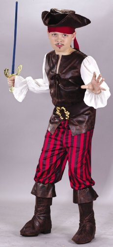 High Seas Buccaneer Child Large Costume
