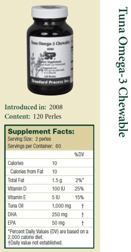 Tuna Omega-3 Chewable 120 Perles
