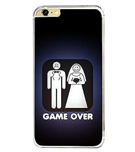 Game Over 2D Hard Polycarbonate Designer Back Case Cover for Apple iPhone 6S