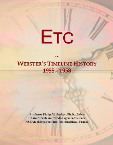 Etc: Webster's Timeline History, 1955 - 1958