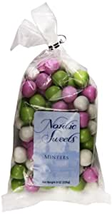 Nordic Sweets Mintees Chocolate Mint Creams, 8 Ounce