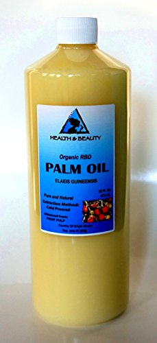 Palm Oil Rbd Organic Carrier Cold Pressed Pure 64 Oz front-1025349