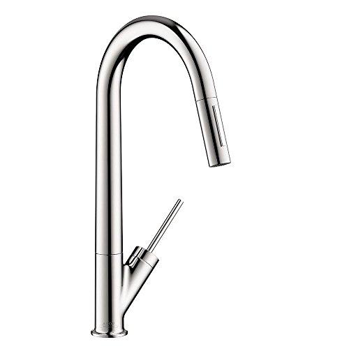 Hansgrohe 10821001 Starck Higharc Kitchen Faucet Chrome Yomonononno