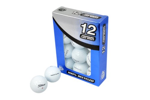 Second Chance Golfbälle 12 Titleist Nxt Tour Lake A-Qualität, weiß, PRE-12-TIT-NXTT