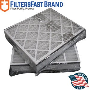 """Trion 20x25x5 255649-102 Compatiable Air Filter - MERV 8 2pk by Filters Fast - Actual Size 19-3/4""""x 24-1/4""""x4-3/4"""""""