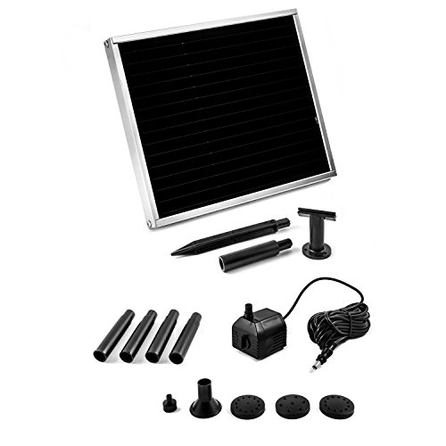 solar pumpe springbrunnen nsp1 solarpumpe teichpumpe steckfertiges set. Black Bedroom Furniture Sets. Home Design Ideas