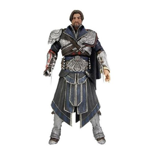 Assassin's Creed: Ezio Action Figure (onyx Costume Unhooded) (onyx) Limited