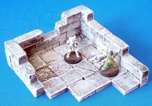 Flex Ruins Building Battle Scared Modern