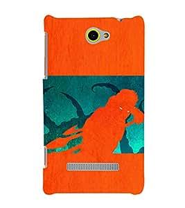 EPICCASE the monster Mobile Back Case Cover For HTC One M10 (Designer Case)