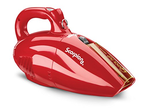 Dirt Devil Hand Vacuum Cleaner Scorpion Quick Flip Corded Bagless Handheld Vacuum SD20005RED (Hand Vacuum Cleaner compare prices)