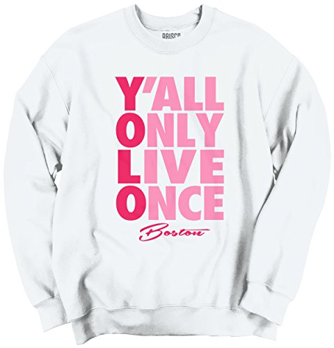 YOLO You Only Live Once Boston, MA Gift Funny Picture Shirts Sweatshirt (Boston Ma Pictures compare prices)