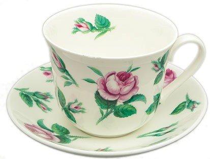 Roy Kirkham Malmaison Jumbo Breakfast Cup & Saucer Set