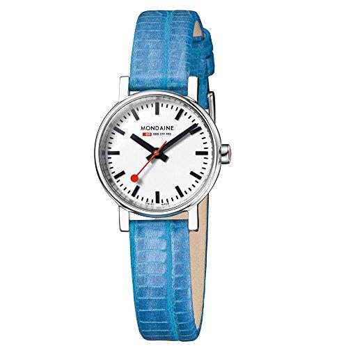 Mondaine EVO Petite A658.30301.11SBD Reloj de Pulsera para mujeres Look Estación de Trenes