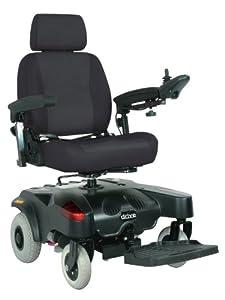 Drive Medical Sunfire EC Power Wheelchair, Red