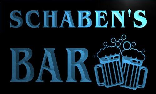 w044331-b-schaben-name-home-bar-pub-beer-mugs-cheers-neon-light-sign-barlicht-neonlicht-lichtwerbung