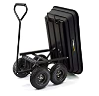 Garden Dump Cart. Gorilla Carts Gor200b ...