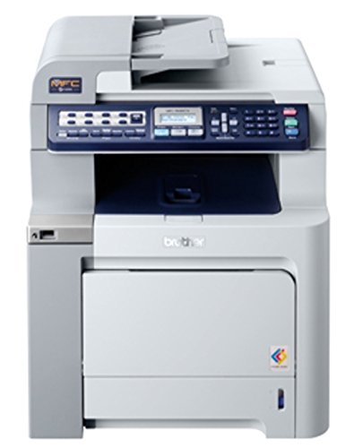 Brother Mfc-9440Cn Color Laser All-In-One Printer With Built-In Ethernet Network Interface front-865694