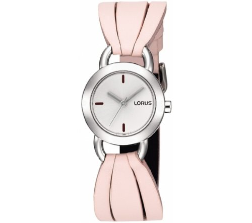 Lorus Ladies Fashion Watch Pink Leather Band