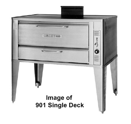 "Blodgett 901 Double Deck Oven, Gas, Doubel Deck, 33"" Wide X 22"" front-584085"