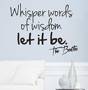 la cancion let it be beatles: