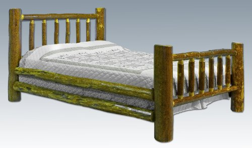Montana Woodworks Glacier Country California King Log Bed