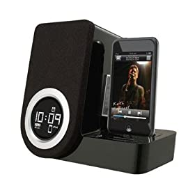 41iPbFNFMqL. SL500 AA280  iHome iH41BR Pivoting Alarm Clock For Ipod   $65 Shipped