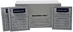 Haemo-Sol 025-055 PK Enzymatic Detergent 24  Single Use Packets