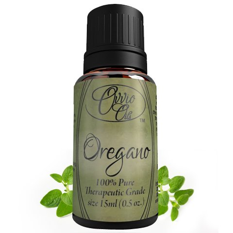 Oregano Oil by Ovvio Oils- Premium Grade 100% Pure Oregano Essential Oil - Imported from Turkey - Large 15 ml