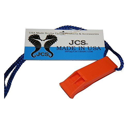 Jcs Plastic Scuba Safety Whistle