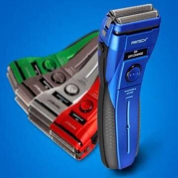 1 Pcs - 220V Pritech Rsm-1162 Reciprocating Electric Shaver Double Foil Razor (Color : Random)