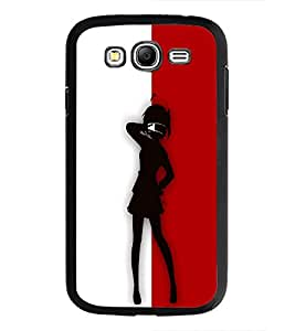 PrintDhaba Girl Design D-2644 Back Case Cover for SAMSUNG GALAXY GRAND NEO PLUS (Multi-Coloured)