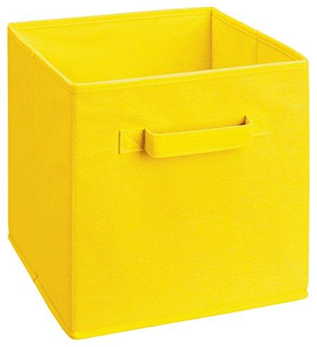 closetmaid-58711-cubeicals-fabric-drawer-yellow