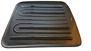 Rubbermaid Antimicrobial Large Drain Board, Black